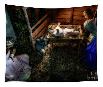 Birth Of Jesus Christ Tapestry