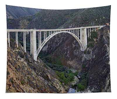 Bixby Bridge Big Sur California Tapestry