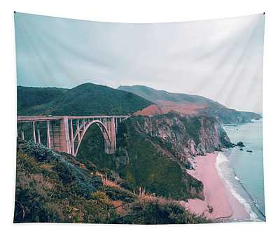 Bixby Creek Bridge Tapestry