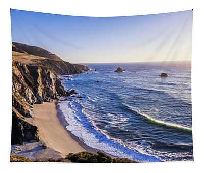 Bixby Creek Bridge, Pacific Ocean Coastline Tapestry