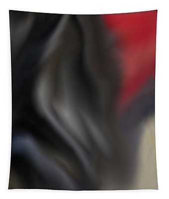 Black Dog 2 Tapestry