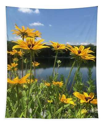 Black-eyed Susan Flowers 1 Tapestry