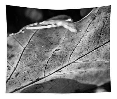 Black Leaf Tapestry