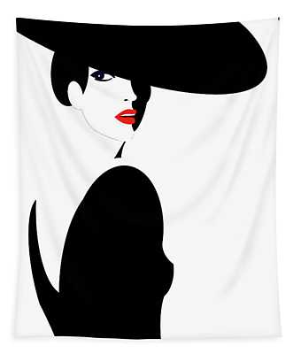 Black Widow 1 Tapestry