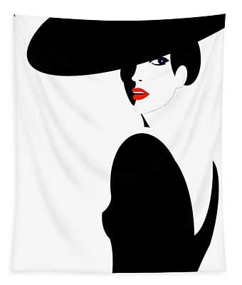 Black Widow 2 Tapestry