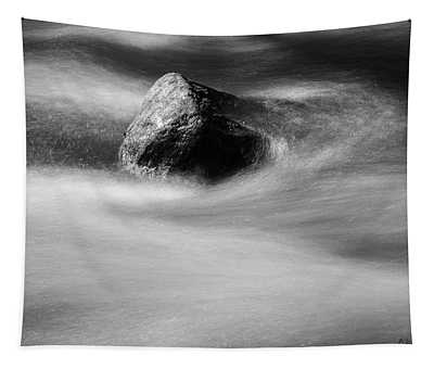 Blackstone River Xx Bw Tapestry by David Gordon