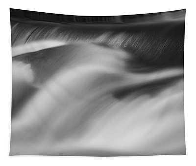 Blackstone River Xxxii Bw Tapestry by David Gordon