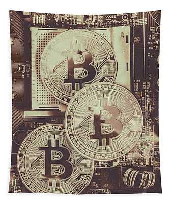 Blocks Of Bitcoin Tapestry