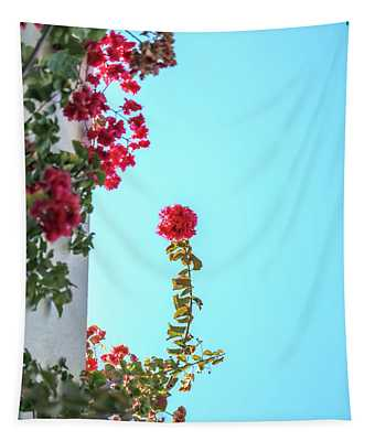 Blooming Beauty Tapestry