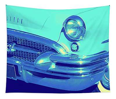Blue 1955 Buick Special Tapestry
