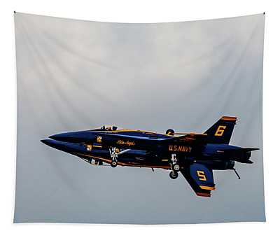 Blue Angels 5 And 6 As One Tapestry