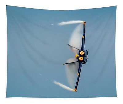 Blue Angels Vapor Tapestry