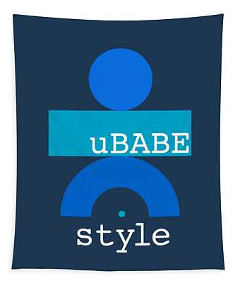 Blue Babe Tapestry