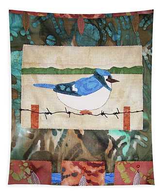 Blue Bird Tapestry