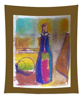 Blue Bottle Tapestry