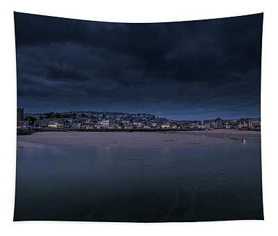 Blue Hour - St Ives Cornwall Tapestry