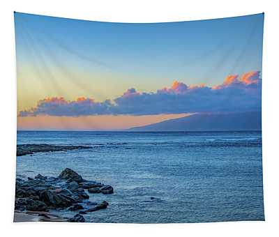 Blue Hour Time Tapestry