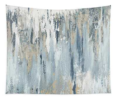 Blue Illusion Tapestry
