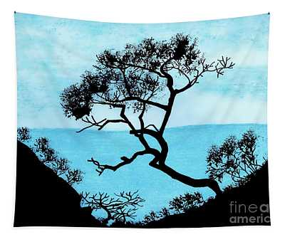 Blue Mountain Tapestry