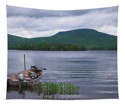 Blue Mountain Lake Tapestry