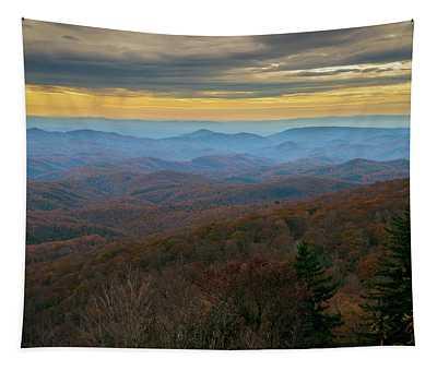 Blue Ridge Parkway - Blue Ridge Mountains - Autumn Tapestry