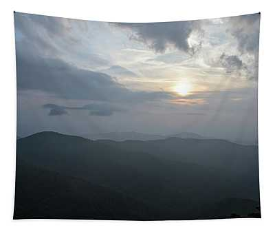 Blue Ridge Parkway Sunset Tapestry