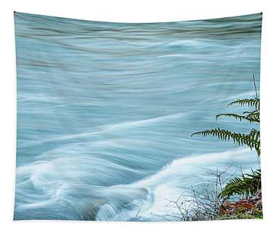 Blue River Flows By Tapestry
