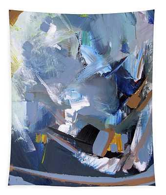 Blue Tweak Tapestry