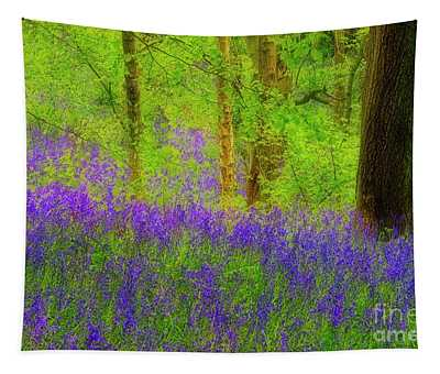 Bluebell Art Tapestry
