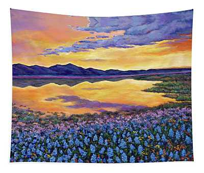 Wildflowers Wall Tapestries