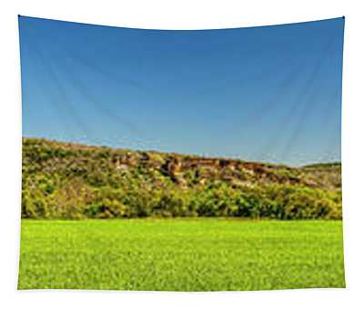 Bluffs At Sandy Creek Panorama 2016 Tapestry