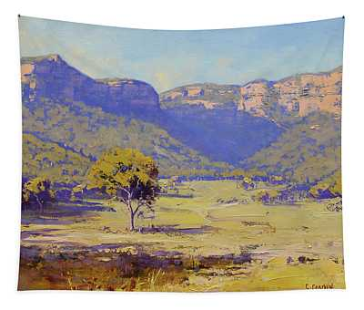 Bluffs Of The Capertee Valley Tapestry