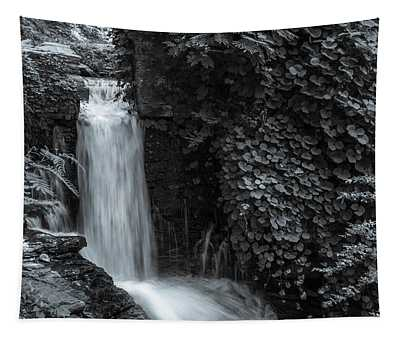 Bnw Waterfall And Flora Tapestry