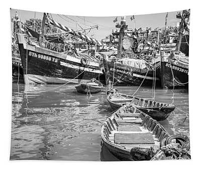 Boats Phan Thiet Tapestry