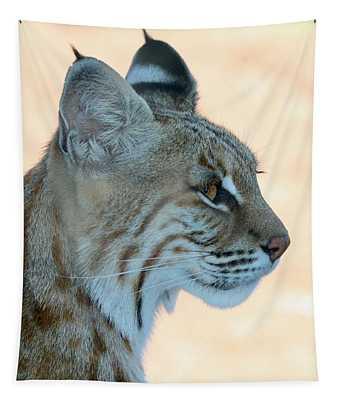 Bobcat Profile Tapestry