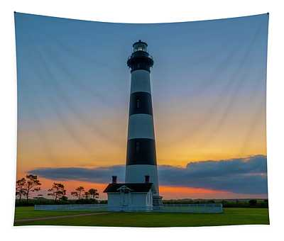 Bodie Island Lighthouse, Hatteras, Outer Bank Tapestry