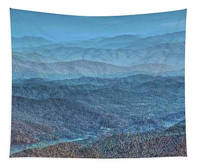 Bold Mountains Tapestry