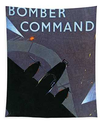 Bomber Command  World War 2 Information Book Tapestry