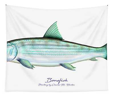 Bonefish Tapestry