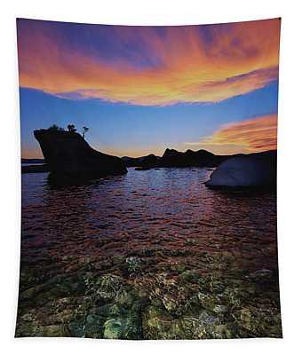 Bonsai Nightlife  Tapestry