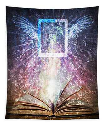 Book Reborn Tapestry