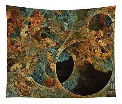Boreal Canopy Fjornak Sunset Tapestry