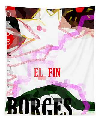 Borges Poster The End  Tapestry