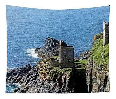Botallack Crown Engine Houses Cornwall Tapestry