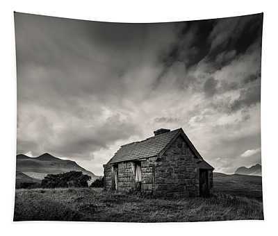 Bothy And Mountains Tapestry