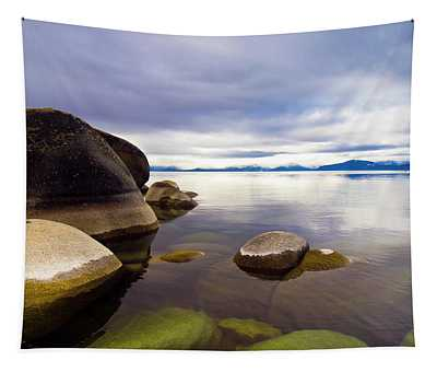 Boulders At Sand Harbor Tapestry