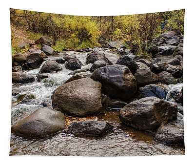 Boulders In Creek Tapestry