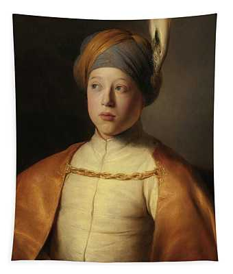 Boy In A Cape And Turban, Portrait Of Prince Rupert Of The Palatinate Tapestry