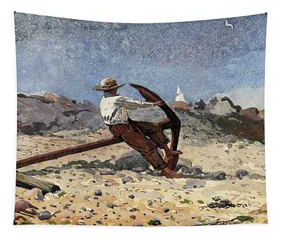Boy With Anchor, 1873 Tapestry