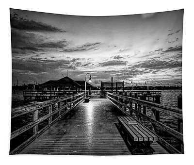 Bradenton Beach City Pier Tapestry